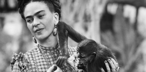 Los animales de Frida Kahlo